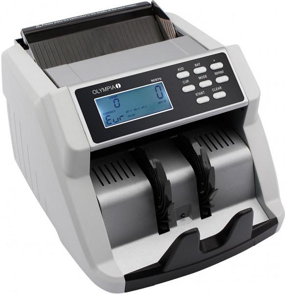 Geldprüfgerät mit Reportfunktion, Detailauflistung und Falschgelderkennung 40047