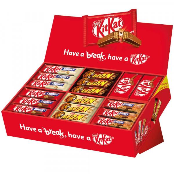 KitKat Bestseller-Box, 68 Riegel