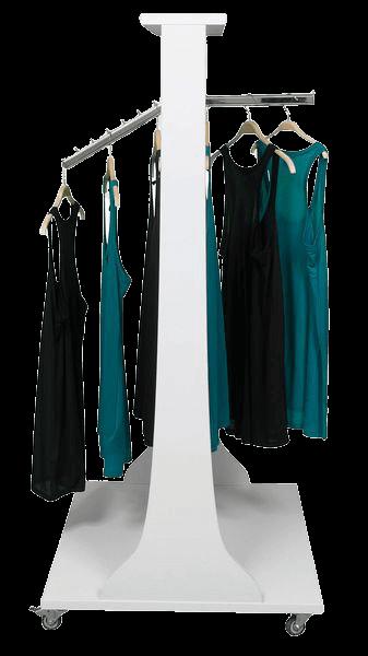 Mittelraumgondel mit Kleidung