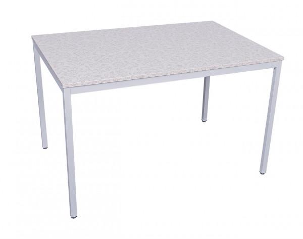 Stabiler Schreibtisch mit royal verzierter Tischplatte 81040