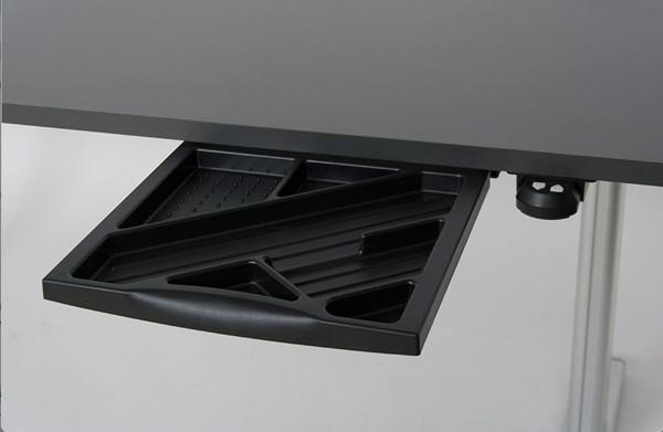 Praktische, ausziehbare Materialschublade für Schreibtische 83620