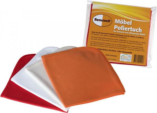 Möbel-Poliertücher zum Auftragen von Produkten und Polieren 92068