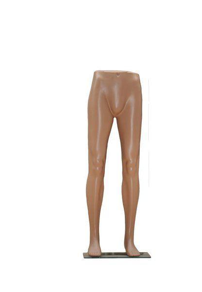 Beine einer Herrenschaufensterpuppe zur optimalen Präsentation von Hosen 11716