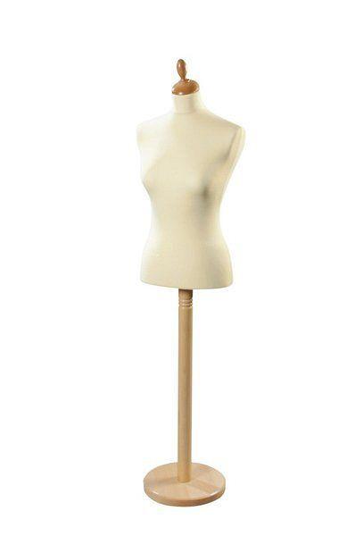 Höhenverstellbare Schneiderbüste zum Anfertigen von Kleidung nach Maß 11263