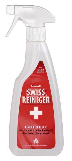 Swissreiniger für die streifenfreie Reinigung 92067