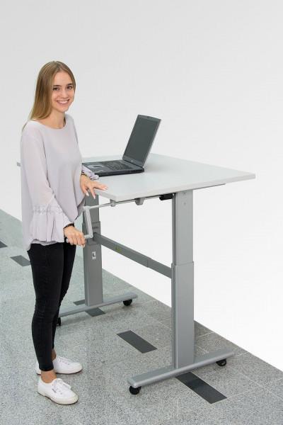 Höhenverstellbarer Schreibtisch mit Handkurbel N83640