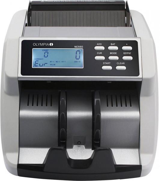 Geldprüf- und Geldzählgerät von OLYMPIA NC 560 mit Echtheitsprüfung 40046