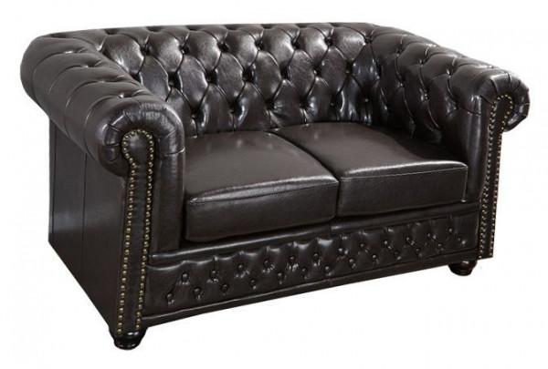 Hochwertiges Zweier Sofa aus Kunstleder 84901