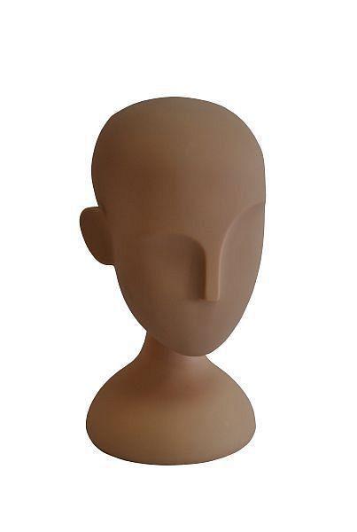 Abstrakter Kunststoffpuppenkopf ohne Gesicht 11932