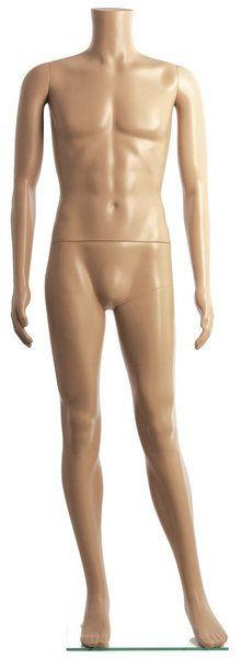 Kopflose Herrenmodefigur für die optimale Präsentation von Kleidungsstücken 11796