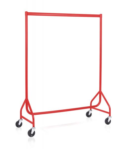 stabiler Rollständer hochwertig rot matt beschichtet