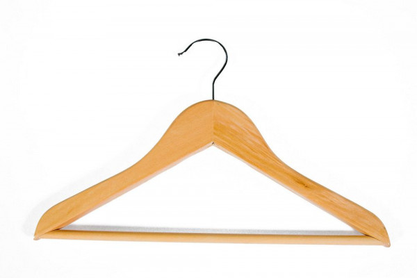 Holzkleiderbügel für Kindermode 12001