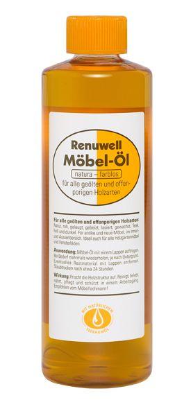 Möbel-Öl für alle geölten und offenporigen Holzarten 92065