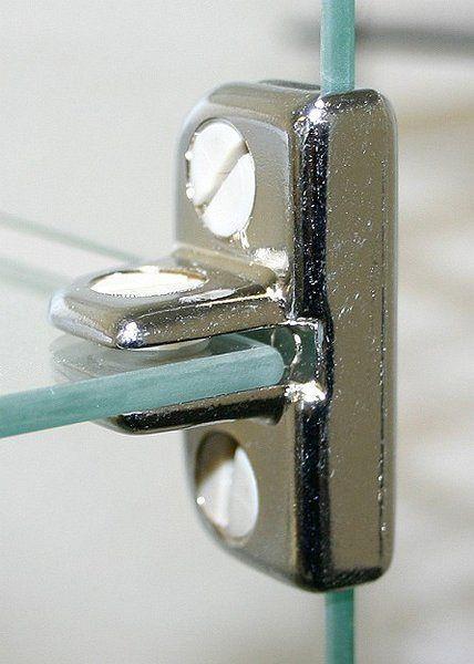 Verbindungsstücke für Glasvitrinen 28554