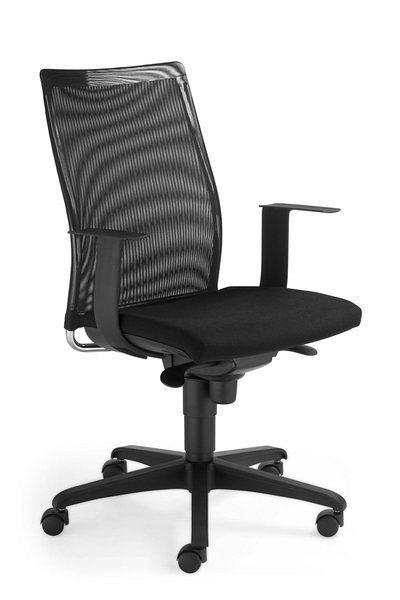 Praktischer Schreibtischstuhl mit Netzrücken 84101