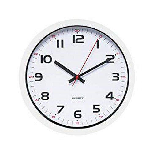 Schöne Wanduhr mit doppelter Stundenmarkierung 639587