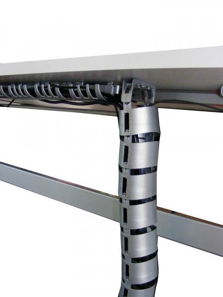Praktischer Kabalkanal zum Verstauen von lästigen Kabeln am Arbeitsplatz 83625