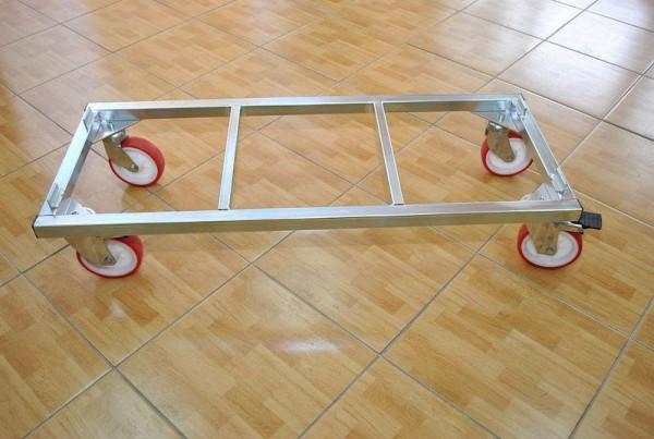Praktischer Rollwagen für Stapelkörbe 15251