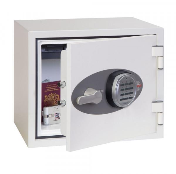 Feuer- & Einbruchsschutzsafe FS1281E TITAN mit elektronischem Tastenschloss