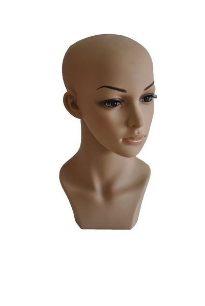 Hochwertiger Puppenkopf aus Kunststoff 11933