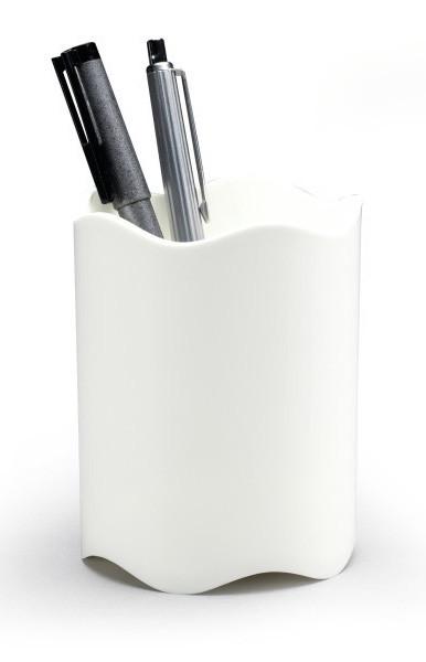 """Stifteköcher """"Trend"""" von Durable in der Farbe Weiß."""