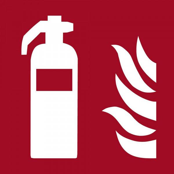Brandschutzzeichen Hinweisschild Feuerlöscher