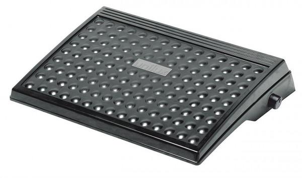 Hochwertige schwarze Fußstütze aus 83% recyceltem Material 639581