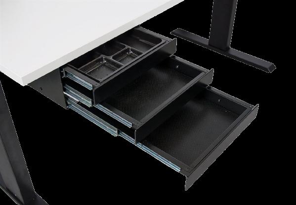 Passende Schubladen für einen Bürotisch