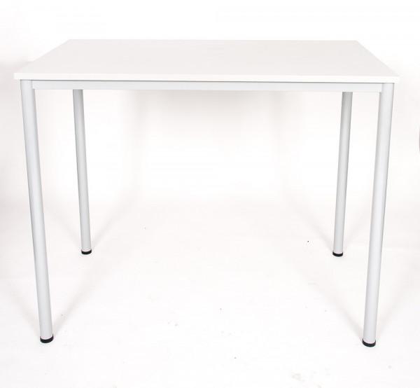 Stabiler Stehtisch mit rechteckiger Tischplatte 89030