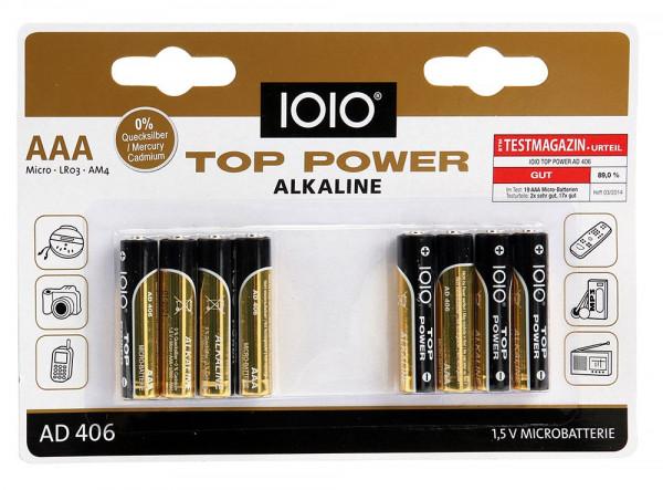 Acht Microbatterien ohne Quecksilber und Cadium 40070
