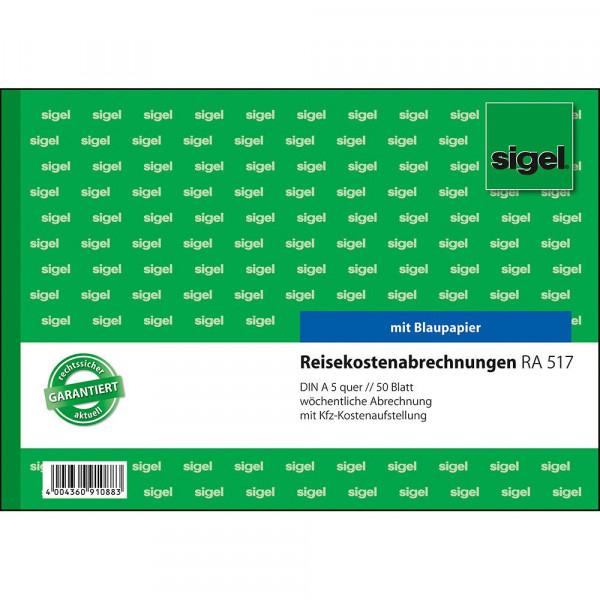 627454_b_sigel_reisekostenabrechnungen_woechentlich_A5q_5_blatt_RA57.jpg