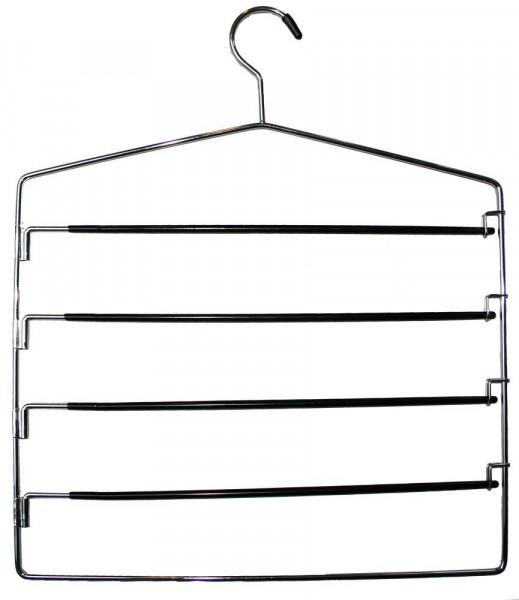 Praktischer Kleiderbügel für mehrere Hosen 12118