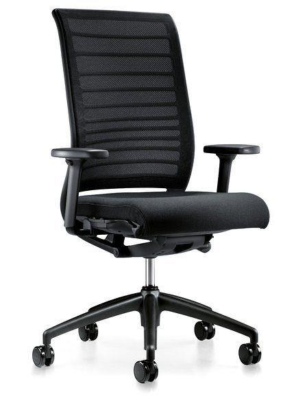 Hochwertiger Bürostuhl in klassischem Design 80087