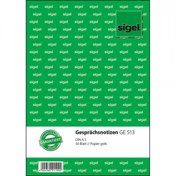 613509_b_sigel_gespraechsnotizen_papier_gelb_A5_5_blatt_635_GE53.jpg